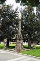 Sloup se sochou Panny Marie (Prostějov) zezadu, nám. TGM.jpg