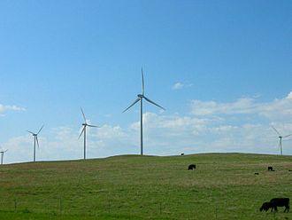 Ellsworth, Kansas - Smoky Hill Wind Farm near Ellsworth