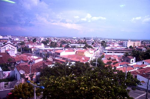 A general view of the city's downtown area as photographed from the seat of the city government Sobral-view.jpg