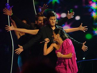 Portugal in the Eurovision Song Contest - Image: Sofia Vitória Portugal 2004