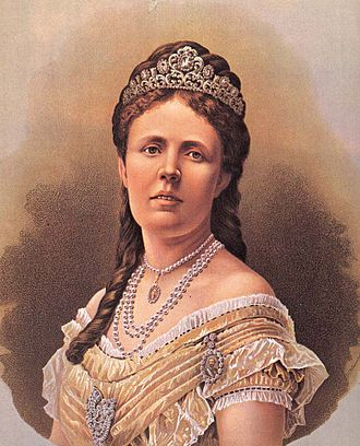 Royal family order - Image: Sofia of Sweden (1857) c 1872 (2)