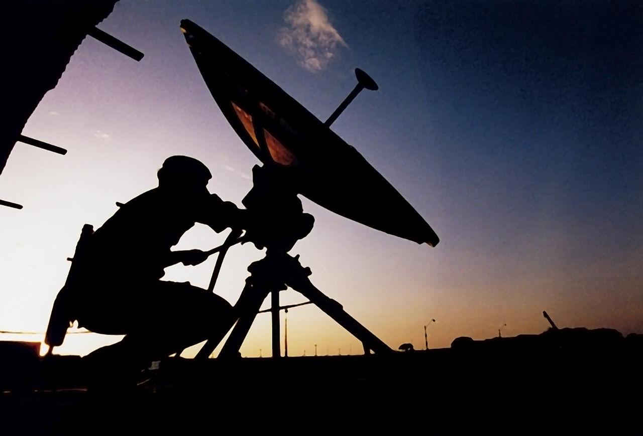 Image result for satellite equipment
