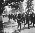 Soldiers on military march, Vancouver Barracks, Washington, ca 1898 (WASTATE 170).jpeg