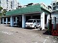 Songshan Armed Forces General Hospital Ambulances in Garage 20120804.jpg