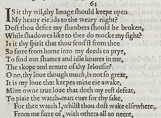 Sonnet 61 poem by William Shakespeare