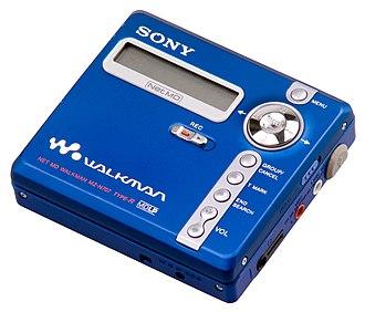 MiniDisc - A NetMD Sony MiniDisc Recorder