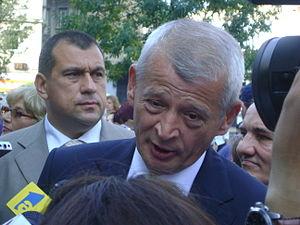 English: Sorin Oprescu, the Mayor of Bucharest...