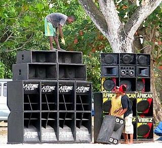 Sound system (DJ) mobile sound system