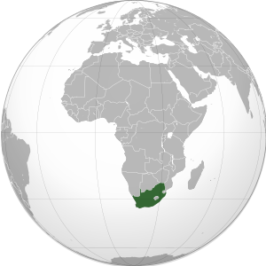 South Africa (orthographic projection).svg