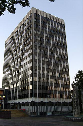 Southend-on-Sea - Southend Civic Centre, autumn 2007