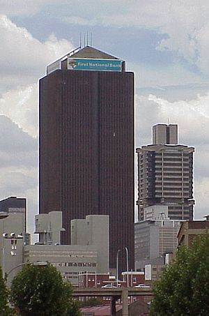 Southern Life Centre - The Southern Life Centre with the Standard Bank Centre in the background.