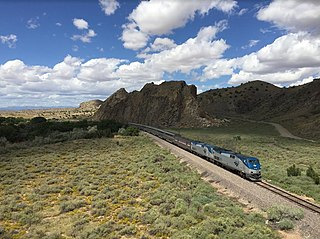 Amtrak passenger rail service in the United States of America