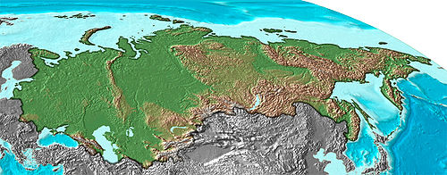 Geography Of The Soviet Union Wikipedia - Physical map of russia