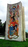Soviet time Mosaic in Vani.jpg