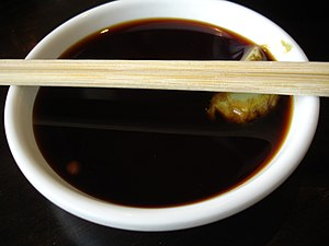 Umami - Soy sauce is also rich in umami components.
