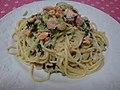 Spaghetti with Salmon (3319153890).jpg