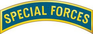 Tabs of the United States Army - Special Forces Tab