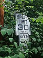 Speed Limit 30 sign Town of St. Johnsbury VT July 2019.jpg