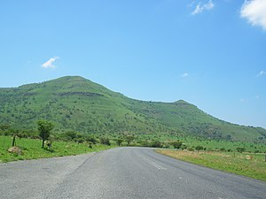 Spion Kop (stadiums) - The Spion Kop hill near Ladysmith, South Africa