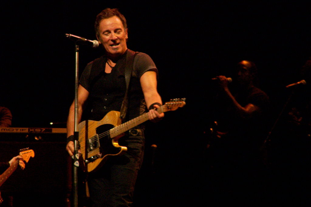 Springsteen with Telecaster