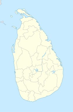 Batticaloa is located in Sri Lanka