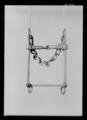 Stångbett av förtent stål, 1600-tal. Troligen till vagnshäst - Livrustkammaren - 69000.tif