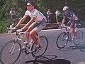 Stéphane Heulot et François Simon échappés lors de la 12e étape du Tour de France 1999.jpg