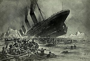 1910s - Sinking of the Titanic.