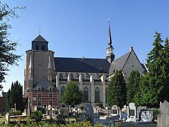 Dymphna - St. Dymphna Church, Geel, Belgium