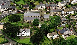 Coychurch village in United Kingdom