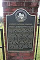 St. Joseph Catholic Cemetery, Marshall, Texas Historical Marker (7179973774).jpg