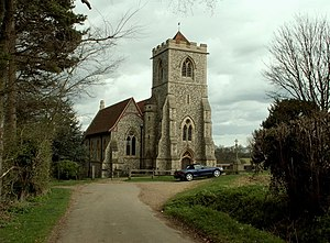 Joseph Clarke (architect) - St Mary the Virgin parish church, Farnham, Essex, built 1858–59