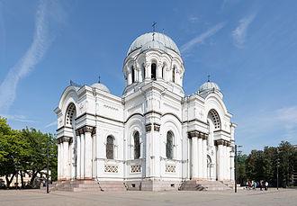 St. Michael the Archangel Church, Kaunas - Side view