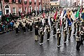 St. Patrick's Day Parade (2013) In Dublin - Purdue University All-American Marching Band, Indiana, USA (8565451151).jpg