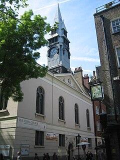 St George the Martyr, Holborn Church in London