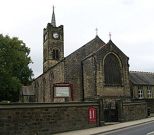 Silsden - St. James' Church, Kirkgate