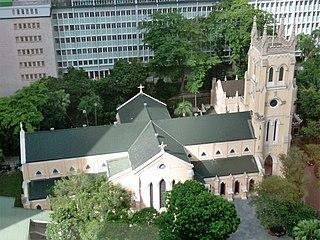 St Johns Cathedral (Hong Kong) Church in Central, Hong Kong