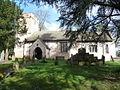 St Mabli's, Llanvapley, Churchyard cross - geograph - 3374772.jpg