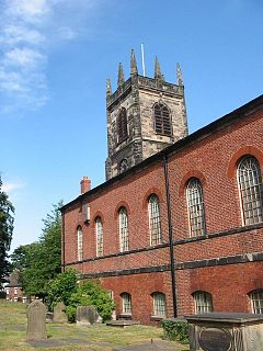 St Peters Church, Congleton Church in Cheshire, England