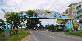 Santa Ana, Pampanga - Welcome arc