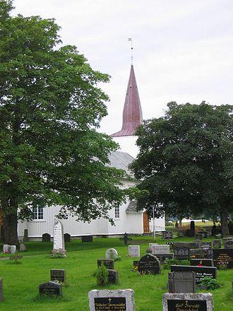 Stadsbygd Church - Image: Stadsbygd kirke fra nø
