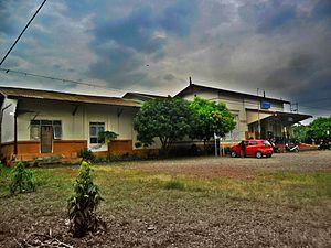 Serang - Serang railway station