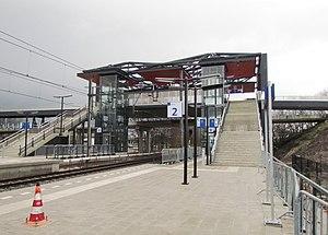 Hoevelaken railway station - Image: Station Hoevelaken