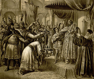 Nikodim I - Coronation of Stefan Dečanski