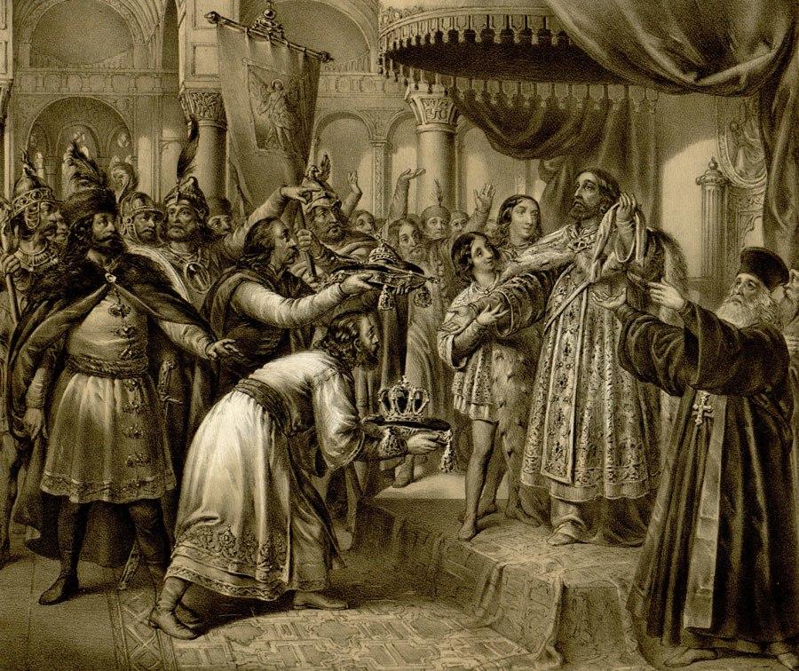Stefan Decanski Coronation