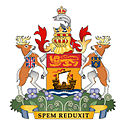 Coat of arms of New Brunswick.