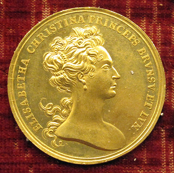 File:Stephan andreas reinhard, med. di elisab. cristina p.ssa di braunscheig wolfenbuttel, 1707, oro.JPG