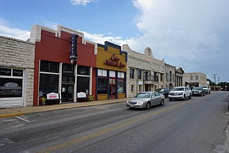 Erath County, Texas - State Highway 108 as S Graham Avenue in Stephenville