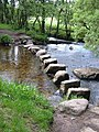 Stepping stones near Babeny - geograph.org.uk - 188561.jpg