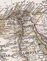 Stieler, Adolf. Das Mittellandische Meer Und Nord-Afrika. 1875 BE.jpg